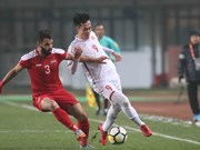 2018亚足联U23锦标赛:越南U23足球队晋级八强 阮春福致贺信
