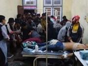 缅甸若开邦示威者与警方发生冲突致40人受伤