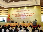阮春福总理:政府办公厅加强参谋工作 寻求生产力发展的余地和释放空间