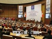 亚太议会论坛年会进入第二日议程:讨论政治与安全和经济与贸易两个议题