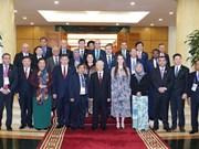 越共中央总书记阮富仲会见出席APPF-26的各国议会代表团团长