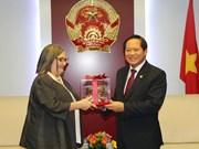越南信息与传媒部加强与谷歌的合作