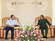 越美军队共同努力推动双边防务合作向纵深发展