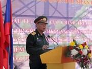 越南援建的老挝人民军队政治理论学院一期工程正式动工