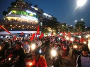越南U23晋级决赛 哨声一响举国同庆
