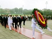 蒙古国国家大呼拉尔主席圆满结束对越南进行的正式访问