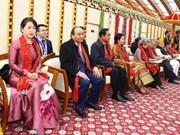 越南政府总理阮春福出席庆祝印度第69个共和日阅兵式