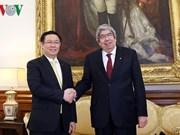 越南政府副总理王廷惠访问葡萄牙