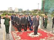 胡志明市委书记阮善仁圆满结束对柬埔寨的访问