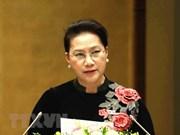 国会主席阮氏金银:越南国会将继续秉着创新、为民精神完成各项目标任务