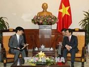 日本愿在各国际场合同越南保持紧密配合