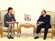 政府总理阮春福会见联合国助理秘书长格尔达