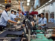 2018年1月份越南全国工业生产指数同比增长20.9%