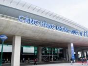 坚江省富国机场旅客接待量超过设计承载能力