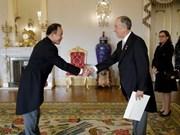越南希望推动与葡萄牙友好合作关系向前发展