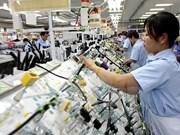 2018年1月胡志明市工业发展指数同比增长15.04%