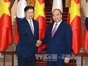 阮春福出席越老政府间联合委员会第40次会议:推动越老务实合作走向深入