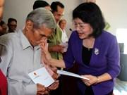 越南国家领导人赴各地拜年