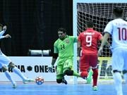 亚洲室内五人制足球锦标赛:打败巴林队 越南队有望入围