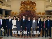 越南政府总理阮春福会见中国驻越大使洪小勇