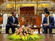 进一步加强河内市与莫桑比克各地方之间的友好合作关系