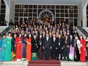 阮春福总理:侨胞们同政府和全民一道努力 建设日益繁荣发展的国家