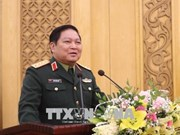 越南国防部部长吴春历:防务关系成为越中关系的支柱