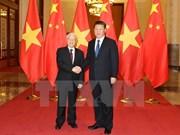 阮富仲与中共中央总书记、国家主席习近平互致新年贺电