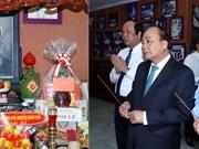 政府总理阮春福敬香缅怀原国家和政府领导人