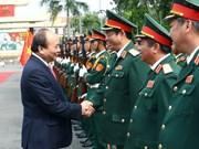 政府总理阮春福:第五军区司令部应继续树立胡伯伯部队的美好形象