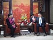 中国与印尼就实现发展战略对接达成共识