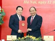 越南政府总理阮春福:早日把国有企业移交给企业国有资产管理委员会