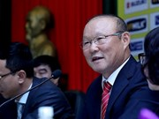 韩国籍主教练朴恒绪相信越南足球有望取得更多成功