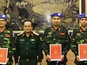 参加联合国维和行动 ——越南对外政策中的亮点