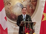 越南当选法瑞士法语大使小组轮值主席一职