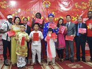 旅尼日利亚和澳大利亚等地越侨欢度春节