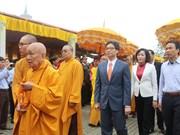 2018年拜订寺庙会正式开庙 政府副总理武德儋出席