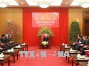 越共中央总书记阮富仲会见东盟各国驻越大使与代办