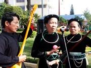 2018年嘉莱省各民族春季文化节吸引100多名艺人及广大人民群众参加