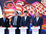阮春福总理出席越南颇具规模的南部石油化工综合体项目开工仪式