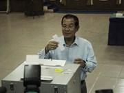 初步统计显示人民党赢得柬埔寨参议院选举