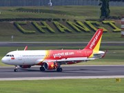 越捷将在新加坡樟宜国际机场T4航站楼运营