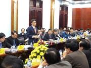 越南政府副总理武德儋莅临广治省调研