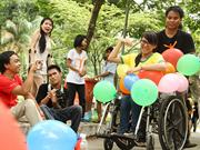 芹苴市启动2018年残疾人融入社会项目