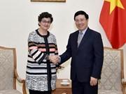 范平明:希望国际贸易中心帮助越南制定政策 使企业更深地参与全球价值链