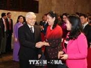 越共中央总书记阮富仲出席越南医师节庆典