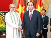 陈大光访问印度: 有效促进越南与印度深度、互信和高效的合作