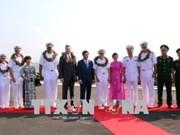 美国海军编队访问岘港