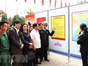 海岛与海军战士图片资料展在山罗省举行