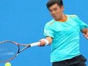 2018年印度男网F2未来赛:李黄南晋级男单次轮